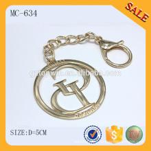 MC634 Золото очарование оптовой металлический кулон прелести сумки металлический шарм