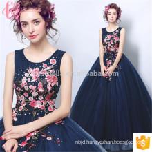 royal blue sleeveless plus size transparent elegant for women evening dress