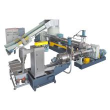 Máquina de granulación de granulación plástica de residuos de PP PE