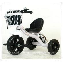 Passeio em estilo de brinquedo / triciclo de criança de alta qualidade com alça