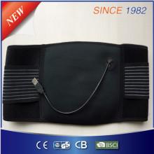 Nueva almohadilla de calefacción eléctrica de la cintura del USB del voltaje bajo del diseño