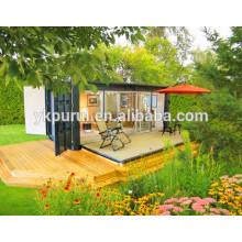 Contentor de contentor profissional contiguo / recipiente de casa móvel / casa de contentores prefabricados de baixo custo