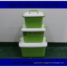Инструмент пластик контейнер Коробка прессформы Отливая в форму