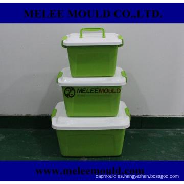 Herramienta Plastik para molde de caja de contenedor en moldura