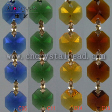 wholesale multi color Crystal Beaded Chain