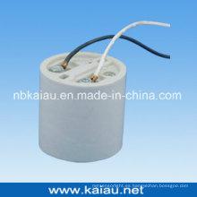 Soporte de la lámpara de la porcelana (E40F511W)