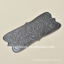 always letter metal charms