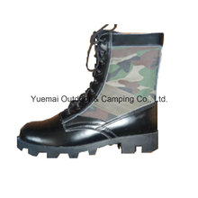Military Jungle Boot in High Quality Leather