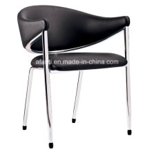 Metal Leather Furniture Leisure Coffee Dining Chair (RFT-E2014-C)