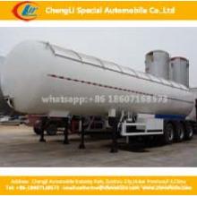 Tri-Eixos 56cbm LPG Gás Cilindro Tanque Semi-reboque LPG Gasolina Semi-reboque
