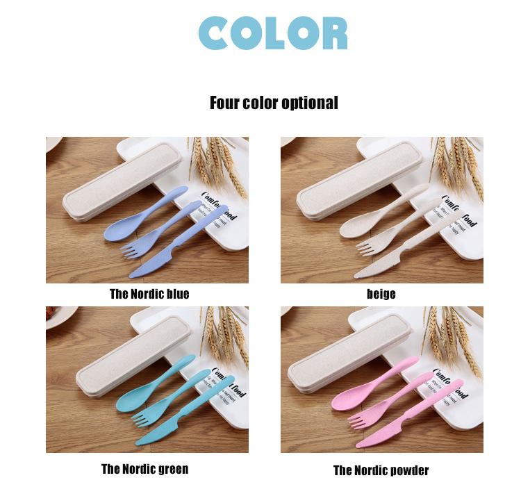 Wheat Straw Plastic Cutlery
