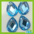 nouvelle haute réfraction sans plomb machine coupe larme poire drop cristal perles de verre à l'arrière
