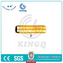 Kingq Tweco MIG pistola con punta de contacto, boquilla para la venta