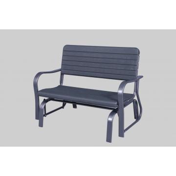 Silla giratoria de HDPE de jardín de muebles de exterior de alta calidad