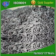 Aplicación de material de madera dura y barbacoa (BBQ) Briqueta de carbón vegetal de aserrín