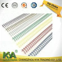 Reliure en nylon à double boucle en nylon