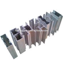 6063 T5 aluminium T section Ghana profilé en aluminium peint pour fenêtre et porte