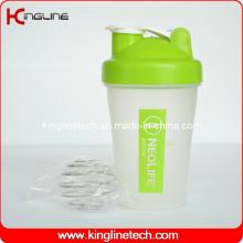 400ml Kunststoff Blend Shaker Flasche mit Blender Mixer Ball Inside (KL-7011)