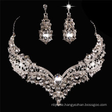 2017 Hochzeitstag Hip Hop Halskette Ohrring zum Verkauf