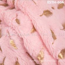PV Plush/ Polyboa / Tricot Velboa / Warp Knit Boa Esth-60A