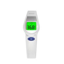 Thermomètre numérique infrarouge de bébé de front