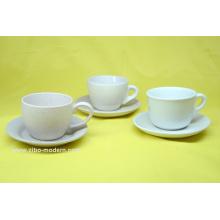 Tazas de café de porcelana en imprentas sin mango (GS1065)