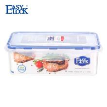 Recipiente de alimento plástico Sealable Hermetic apertado do ar empilhável