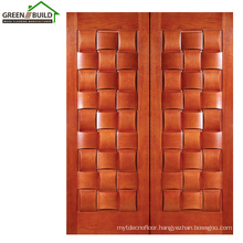 Oak Classical Wooden Door Designs