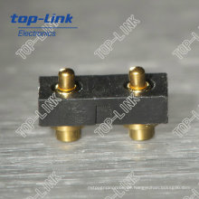 2poliger Pogo Pin Stecker für Leiterplatten