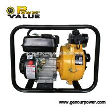 2inch 5.5hp alta elevación gasolina de alto volumen bombas de agua de alta presión