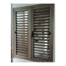 1.4mm thick aluminum alloy adjustable louvre window outdoor turkish blinds