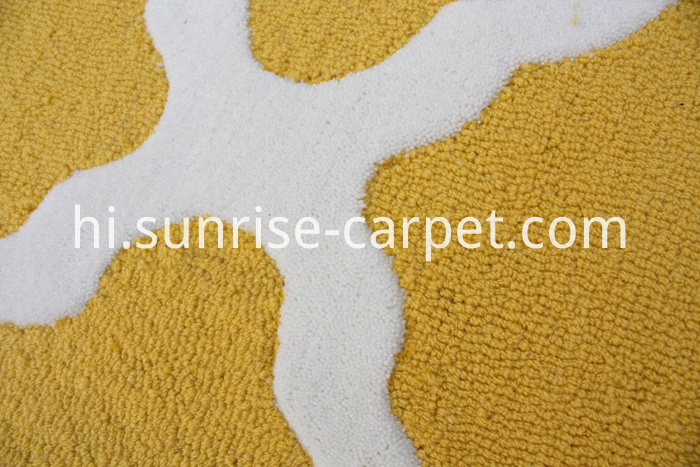 Acrylic Hand Tufted Carpet With Loop Design