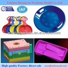 Высокое качество плесени поставщик-пластиковые детские игрушки ребенка формы / DIY пользовательские формы / круглые лыжи сани доски формы