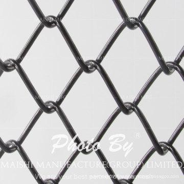 Cercas de eslabones de cadena revestidos de PVC