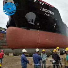 Lancement de navire de qualité fiable utilisation marine airbag airbag sac de levage de l'air