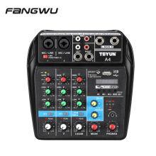 OEM Black Mixing Table Sound Mixer