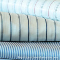 Tissu de doublure à rayures en polyester et viscose pour vêtements