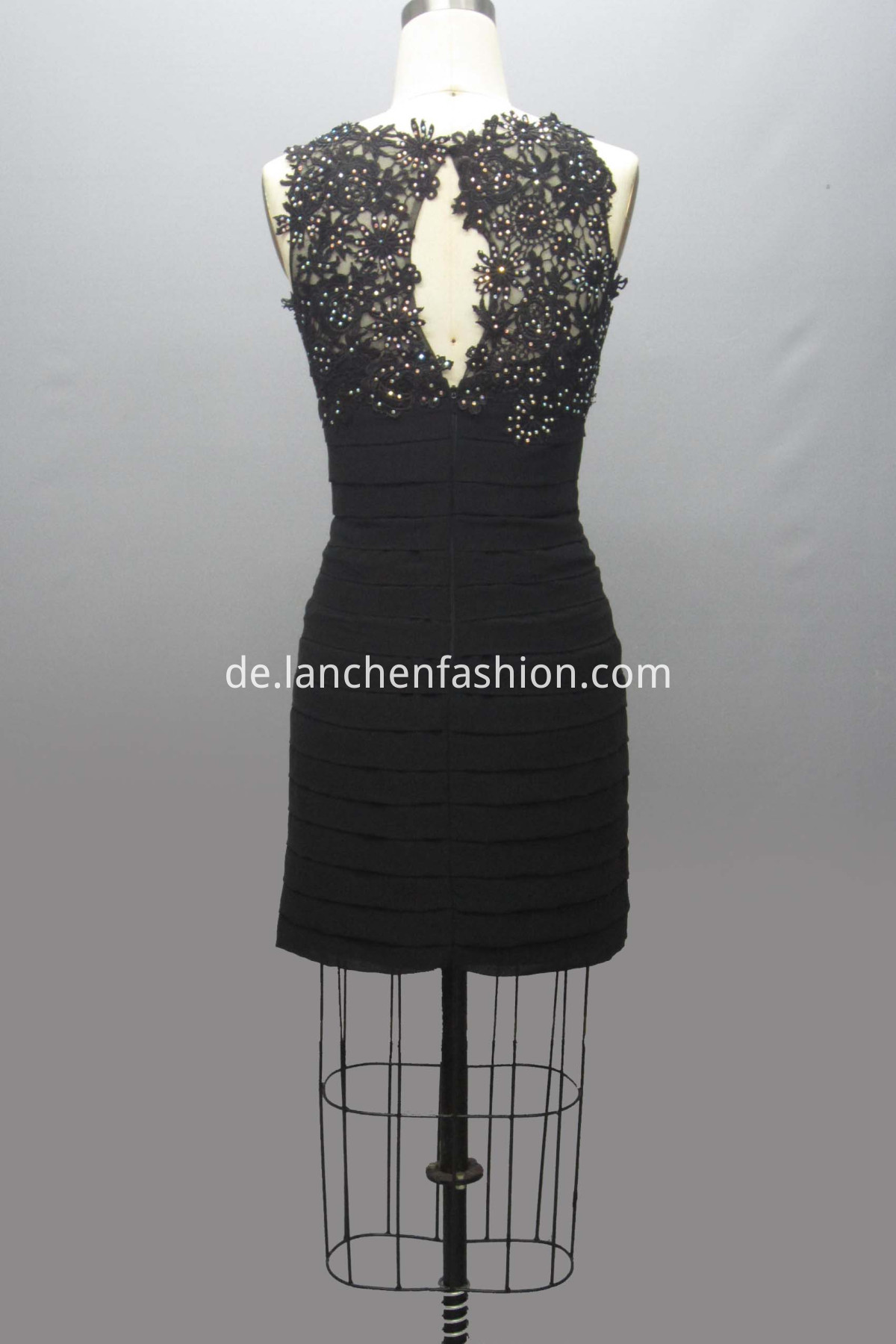 Cocktail Wedding Dress black