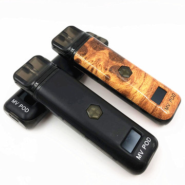 Kit de dispositivo Vape Pod comutável variável OLED Wattage