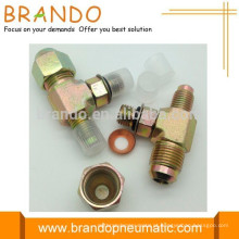 Válvula T e tampa para sistema de refrigeração