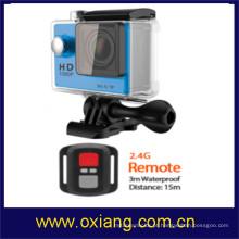 a melhor câmera cheia da ação do hd 1080p do preço / mini câmera da ação / câmera do esporte sj6000 com wifi