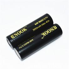 3100mah de Enook 18650 3.7 v bateria