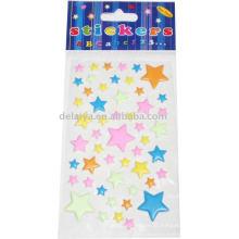 Etiqueta inchado da estrela