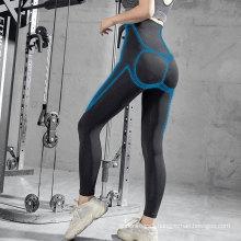 Manufacturer black long sports pants leggings slim gradual pressure shapewear women