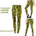 Sublimación Leggings Yoga Pants, Women Wholesale Yoga Pants, Custom Yoga Pants