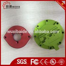Hard anodizado 6061 6063 7075 aluminio personalizado piezas de mecanizado CNC, cnc Aluminio piezas profesional proveedor de mecanizado