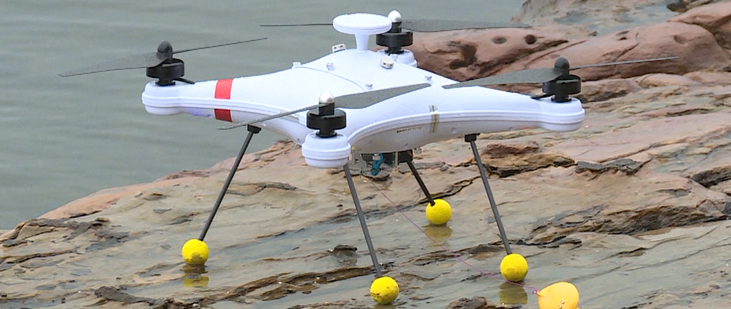 Drone With Sonar