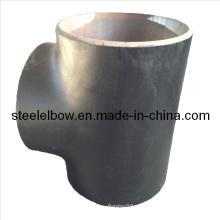 Carbono tubos de acero montaje acero inoxidable Tee