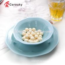 FDA zugelassenen Keramikschalen Keramik Popcorn Schüssel