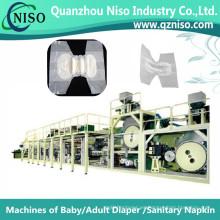 Máquina de pañal para adultos efectiva con SGS en China (CNK250-HSV)
